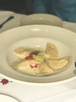 GW Fins Lobster Dumplings