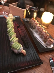 Komodo Seared A5 Roll & Dragon Roll