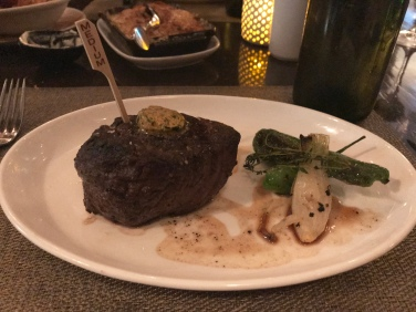 LT Steak & Seafood filet mignon