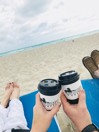 Miami beach coffee