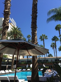Hollywood Roosevelt Hotel's Tropicana Bar by the pool