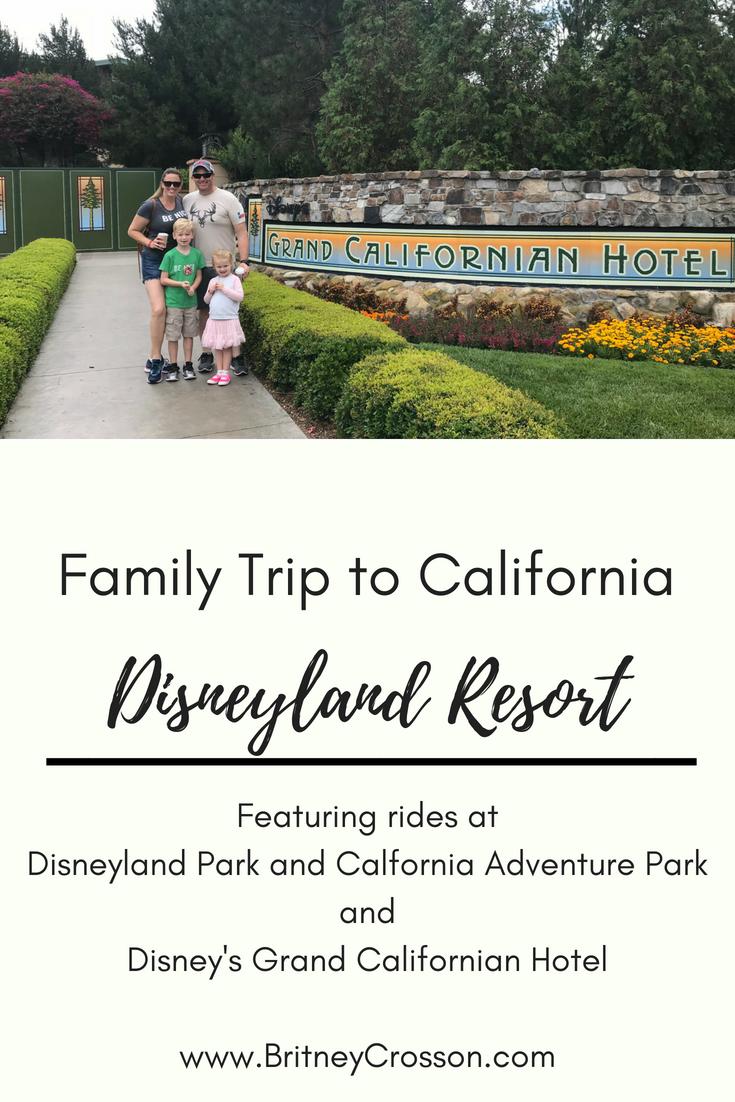 family trip cali disneyland pinterest image