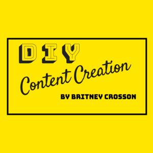 DIY Content Creation logo square