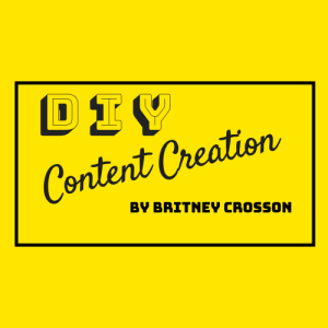 DIY Content Creation logo square